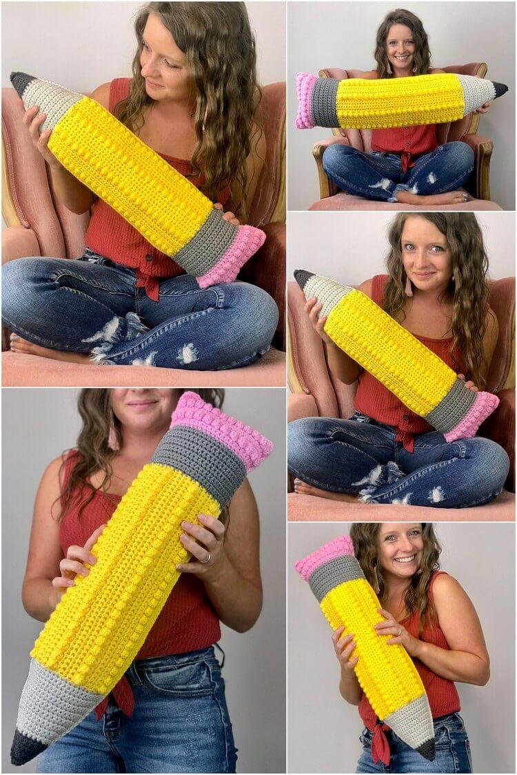 Crochet Pillow Free Pattern (23)