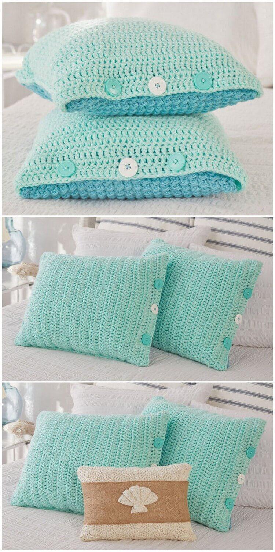 Crochet Pillow Free Pattern (28)