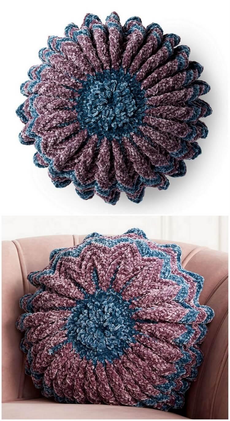 Crochet Pillow Free Pattern (30)