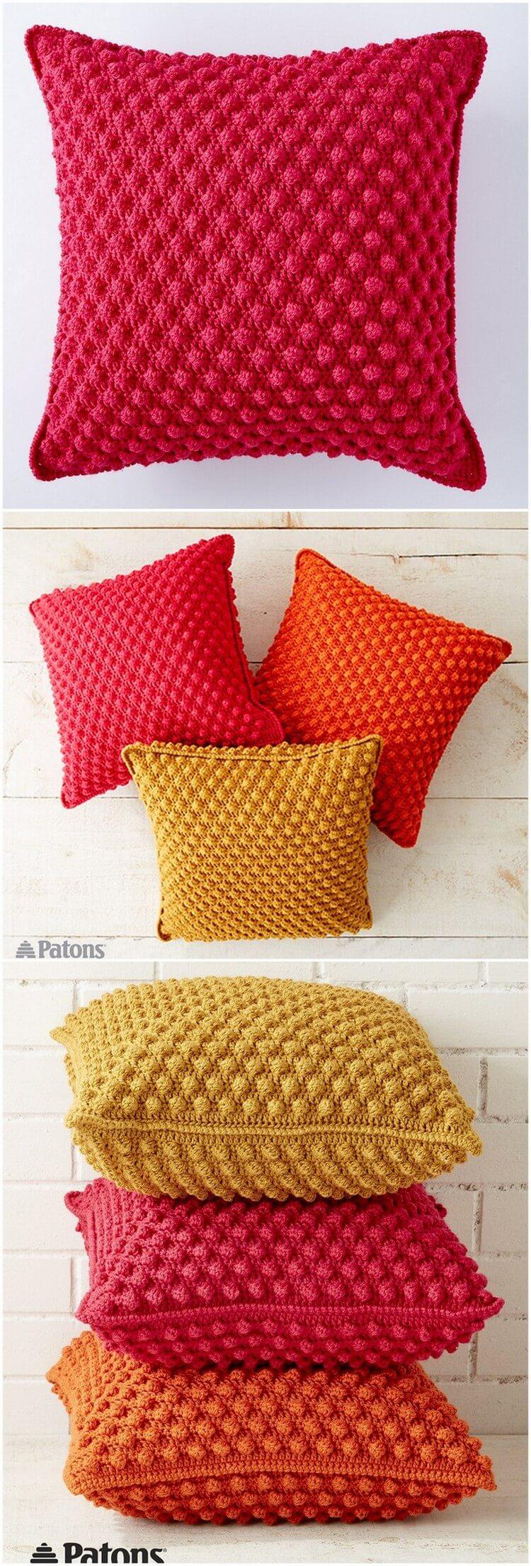 Crochet Pillow Free Pattern (34)