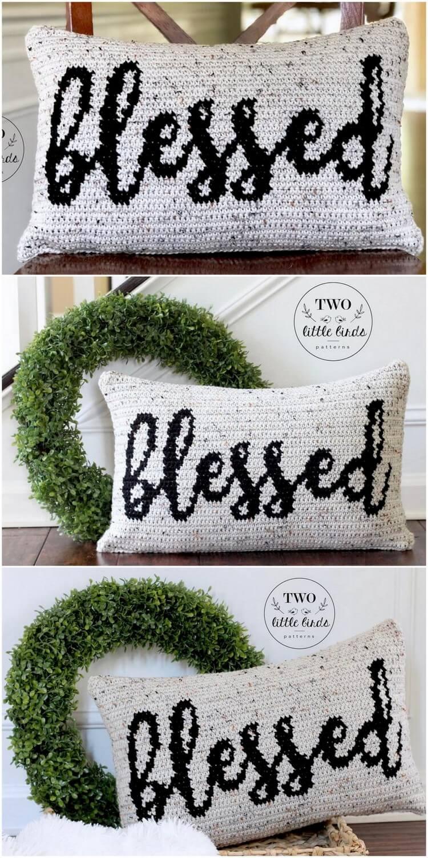 Crochet Pillow Free Pattern (36)