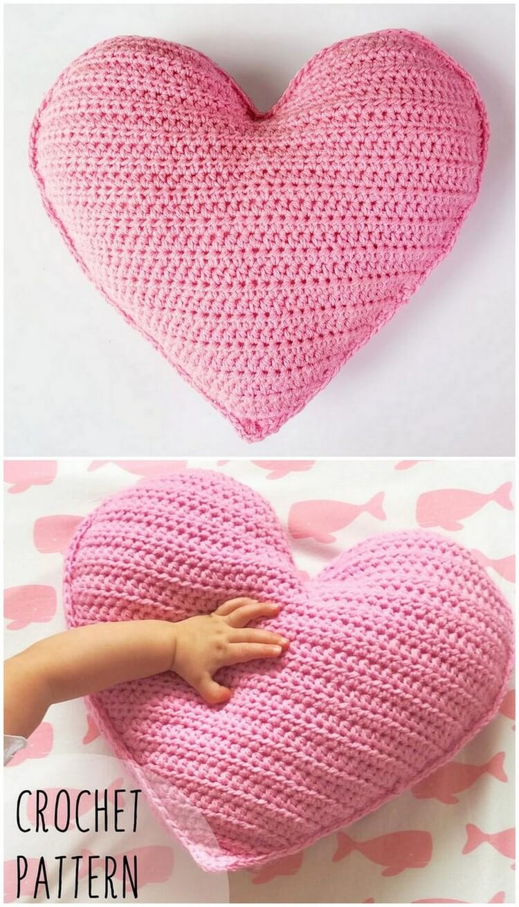 Crochet Pillow Free Pattern (39)