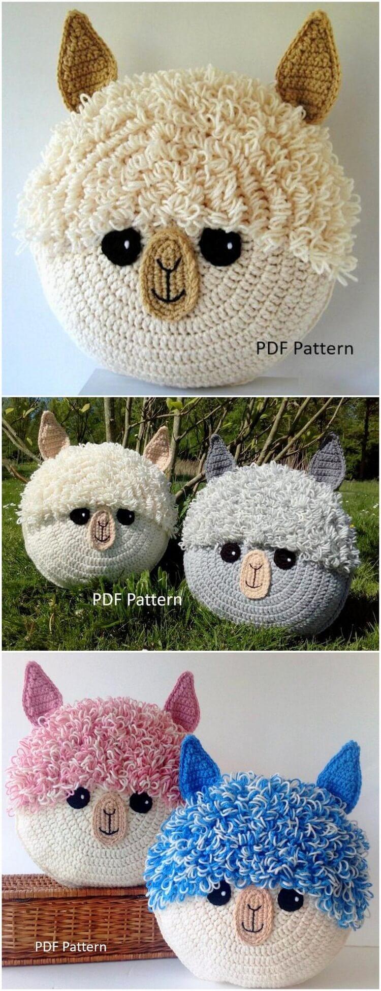 Crochet Pillow Free Pattern (41)