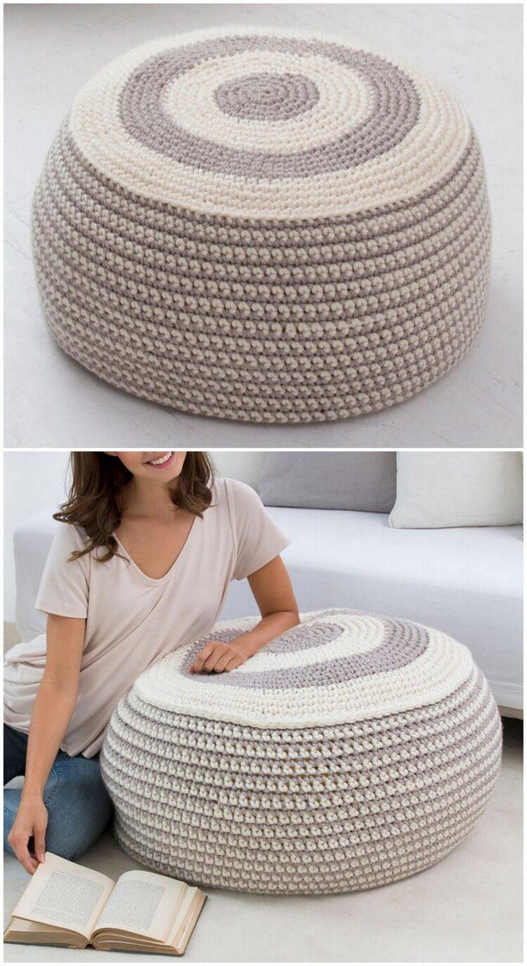 Crochet Pillow Free Pattern (42)