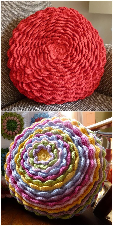 Crochet Pillow Free Pattern (45)