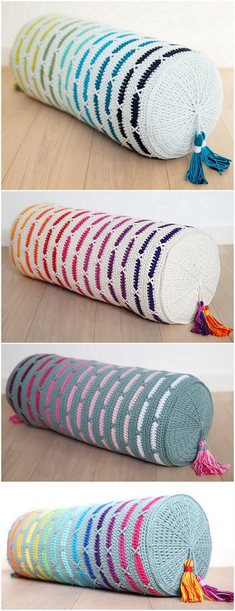 Crochet Pillow Free Pattern (47)