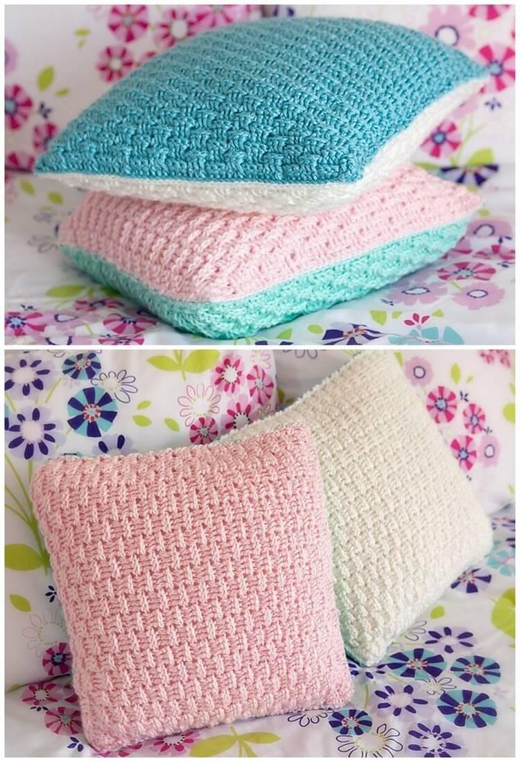 Crochet Pillow Free Pattern (5)