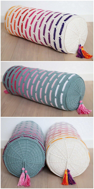 Crochet Pillow Free Pattern (50)