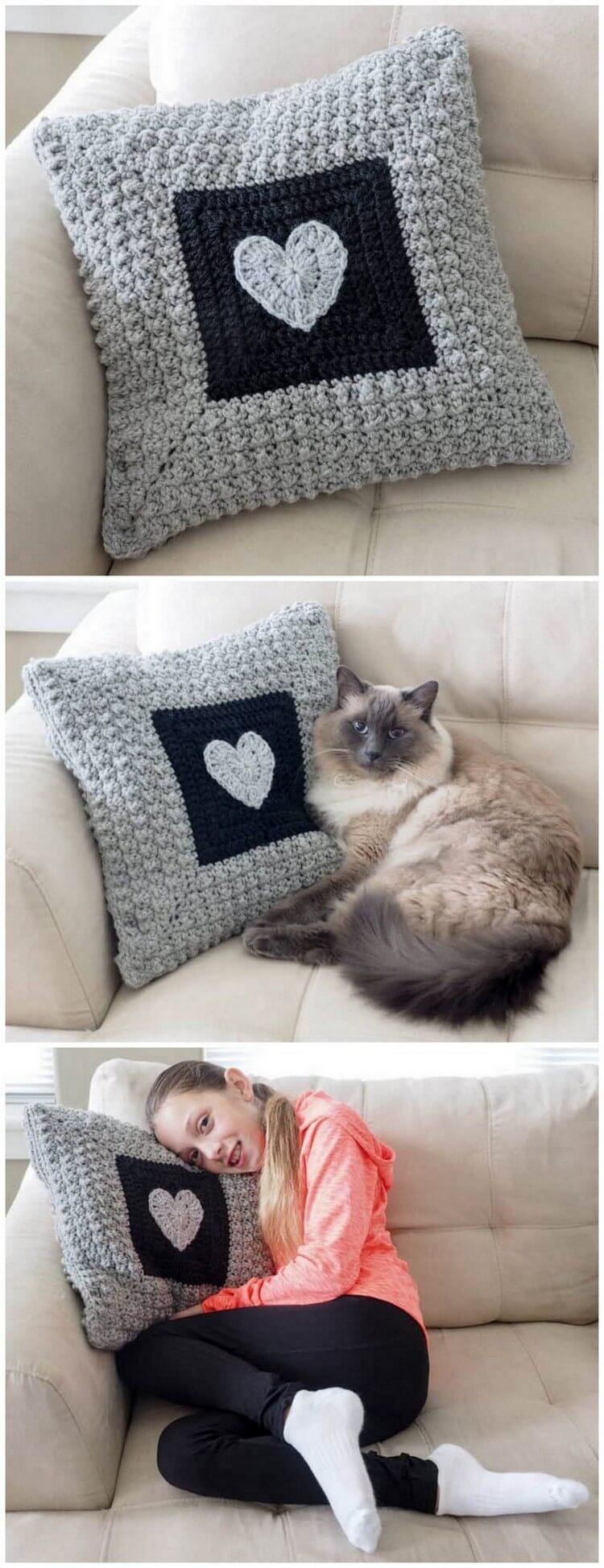 Crochet Pillow Free Pattern (51)