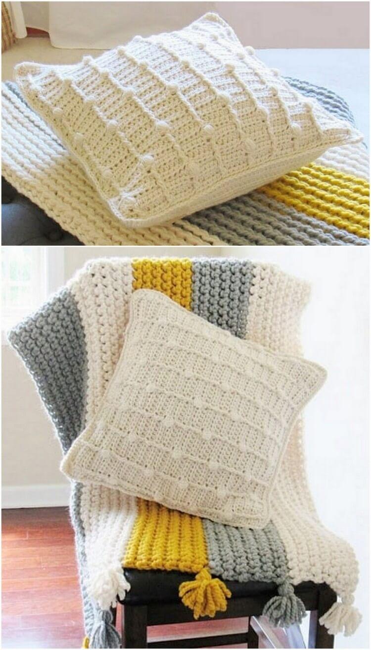 Crochet Pillow Free Pattern (53)