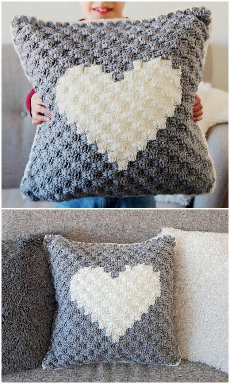 Crochet Pillow Free Pattern (54)