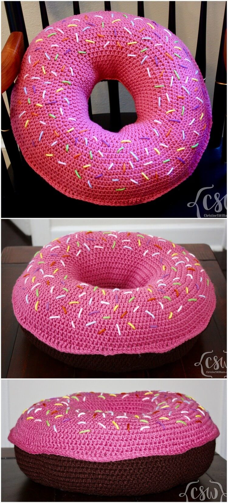 Crochet Pillow Free Pattern (6)