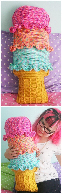 Crochet Pillow Free Pattern (60)