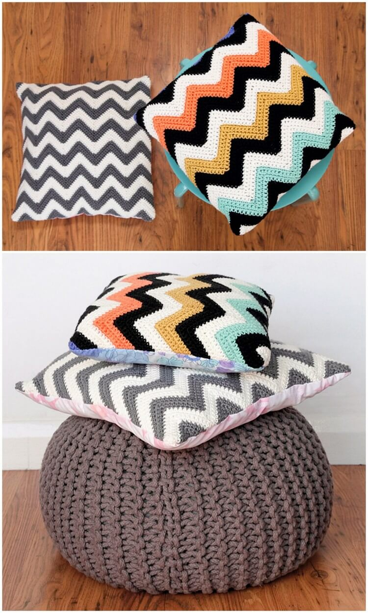 Crochet Pillow Free Pattern (62)