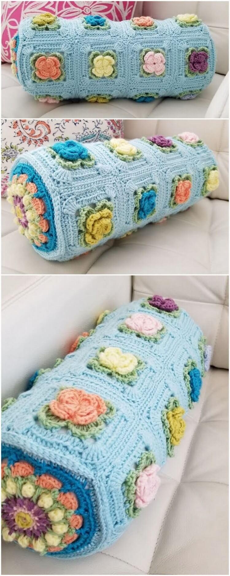 Crochet Pillow Free Pattern (68)