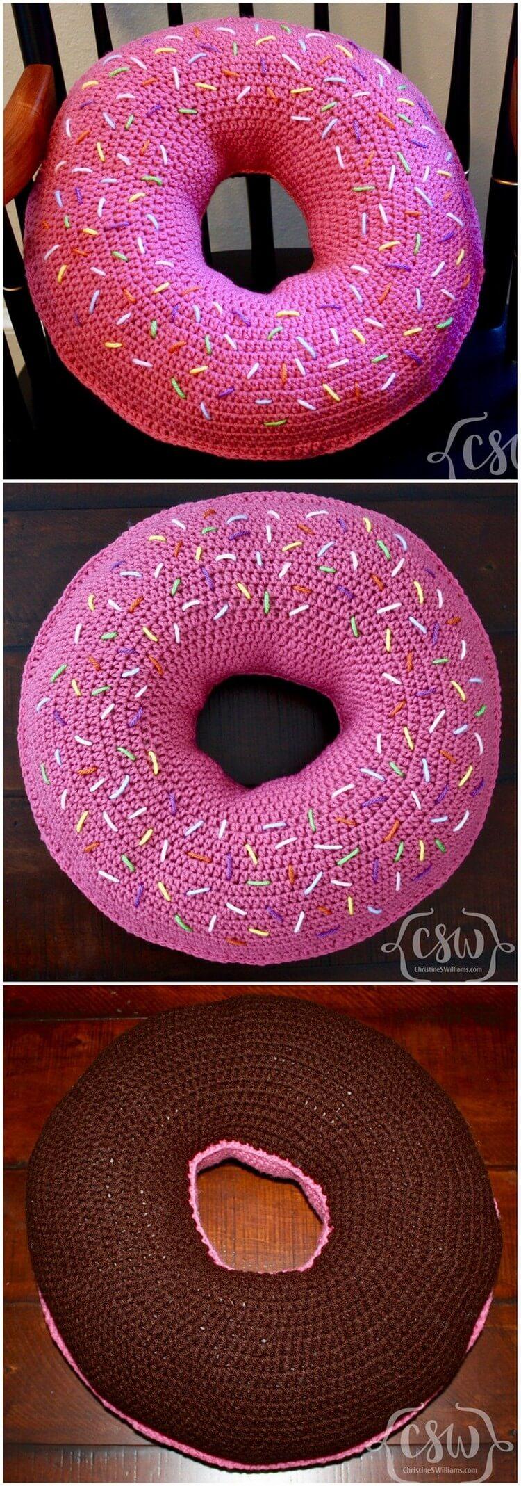 Crochet Pillow Free Pattern (7)