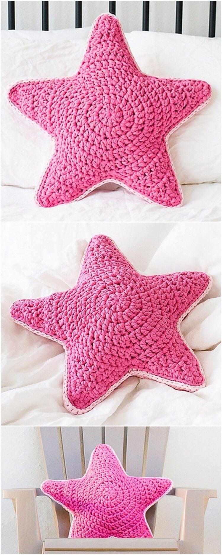 Crochet Pillow Free Pattern (70)
