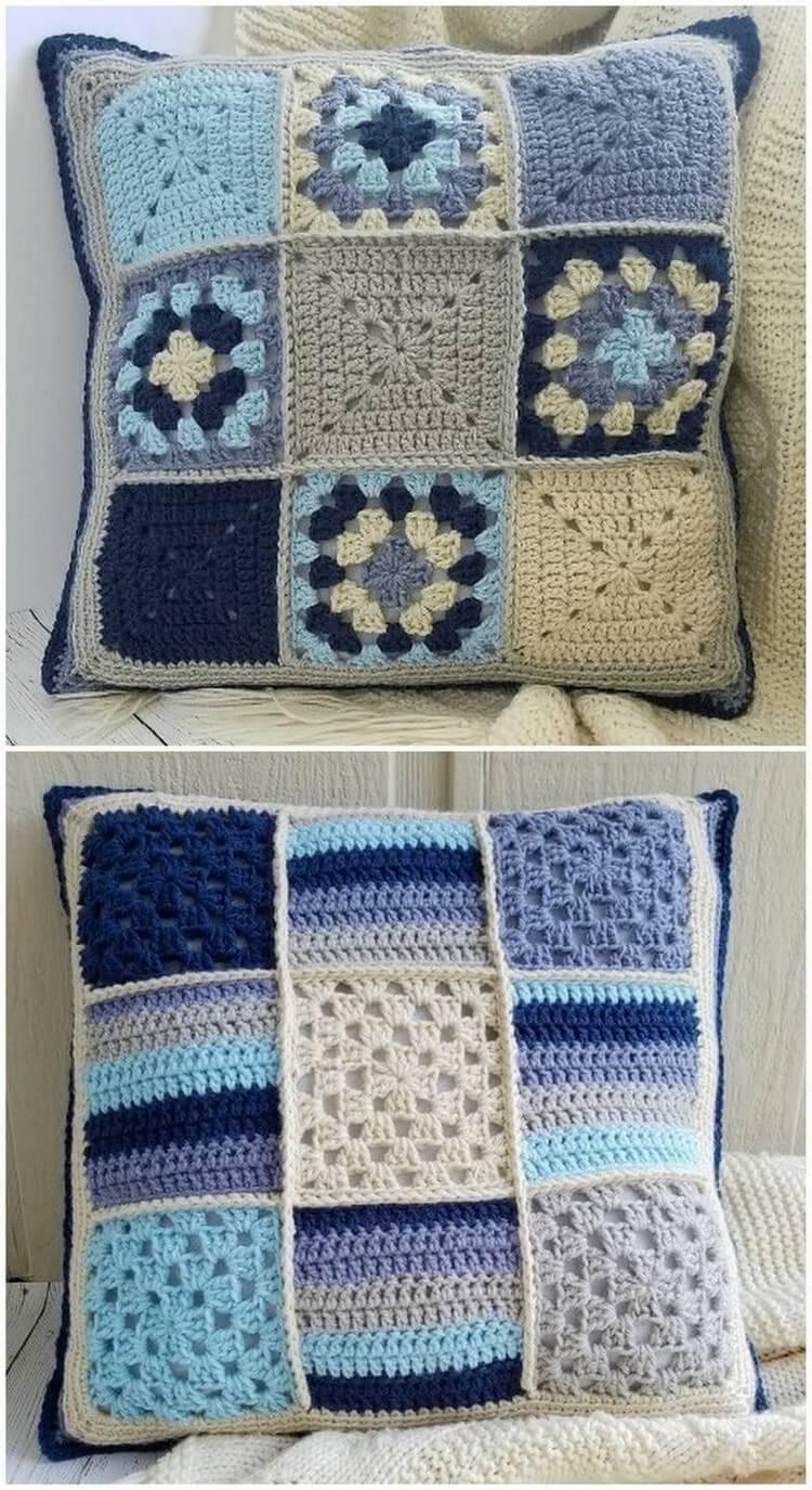 Crochet Pillow Free Pattern (9)