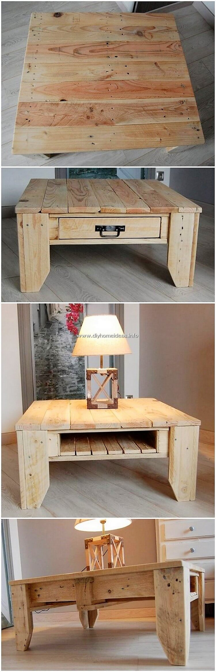 Pallet Lamp Stand or Table