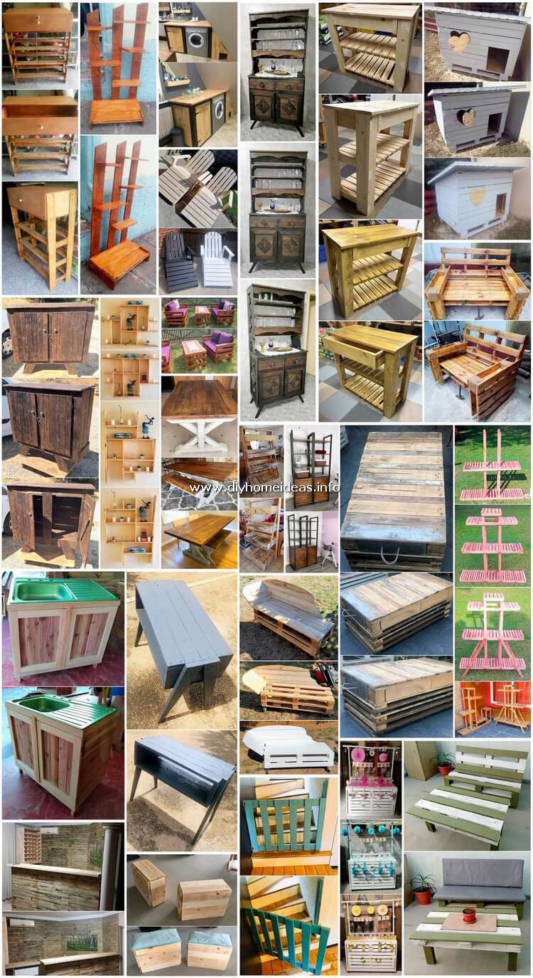 Tricky Wood Shipping Pallet Ideas for Home