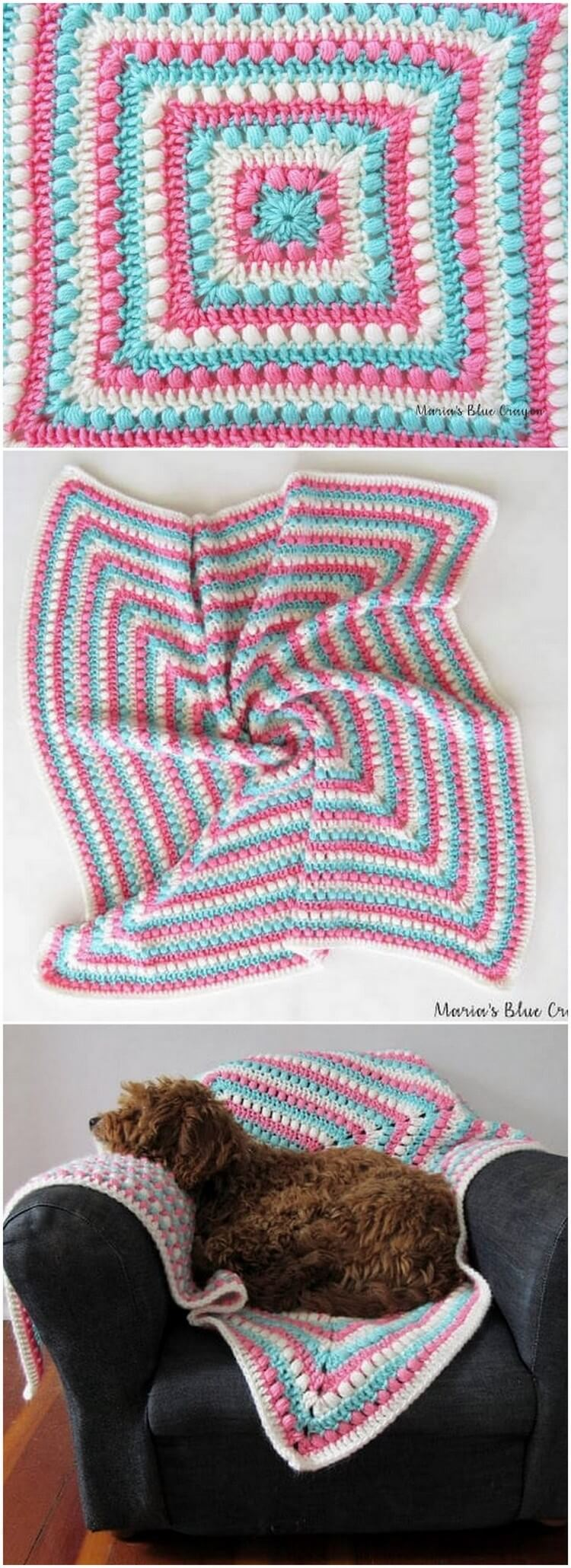 Crochet Blanket Pattern (29)