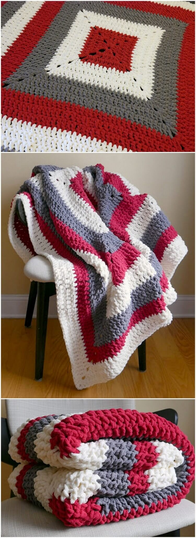 Crochet Blanket Pattern (60)