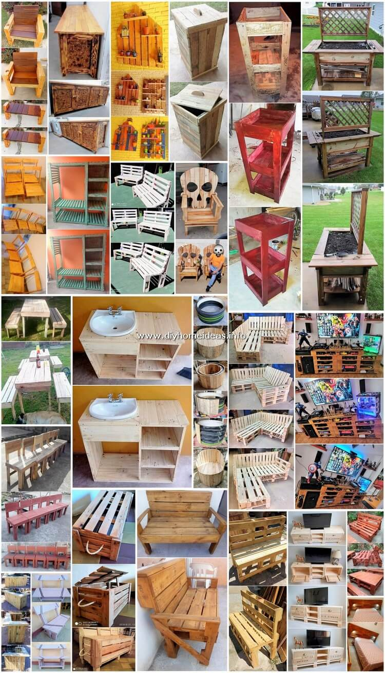 Fanciful DIY Creations Out of Wood Pallets