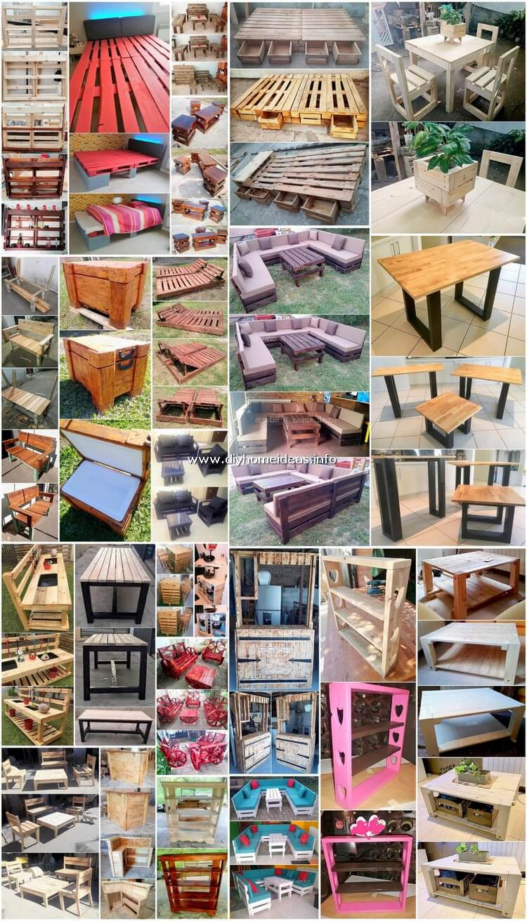 Fresh Wooden Shipping Pallet DIY Projects