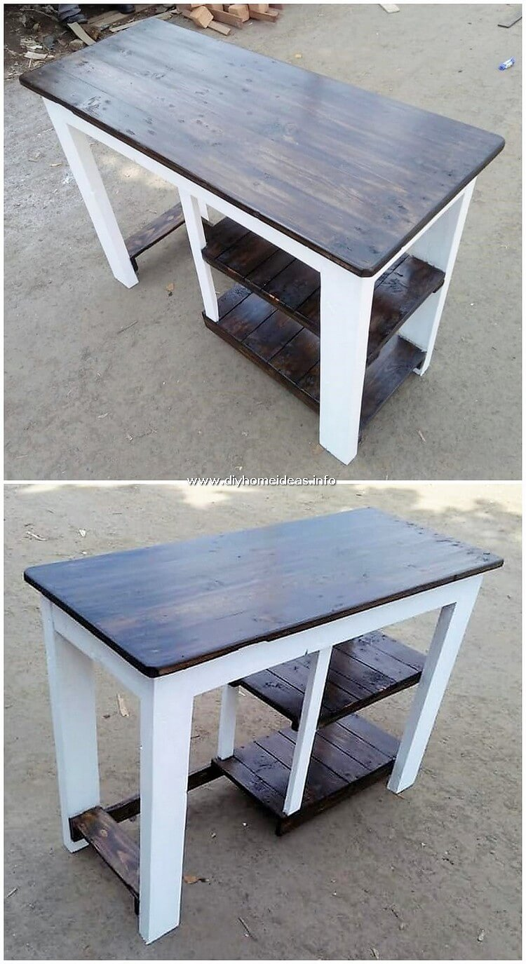 Pallet Desk Table