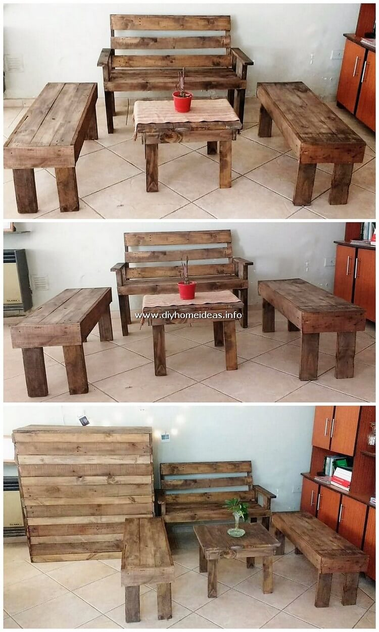 Pallet Indoor Furniture