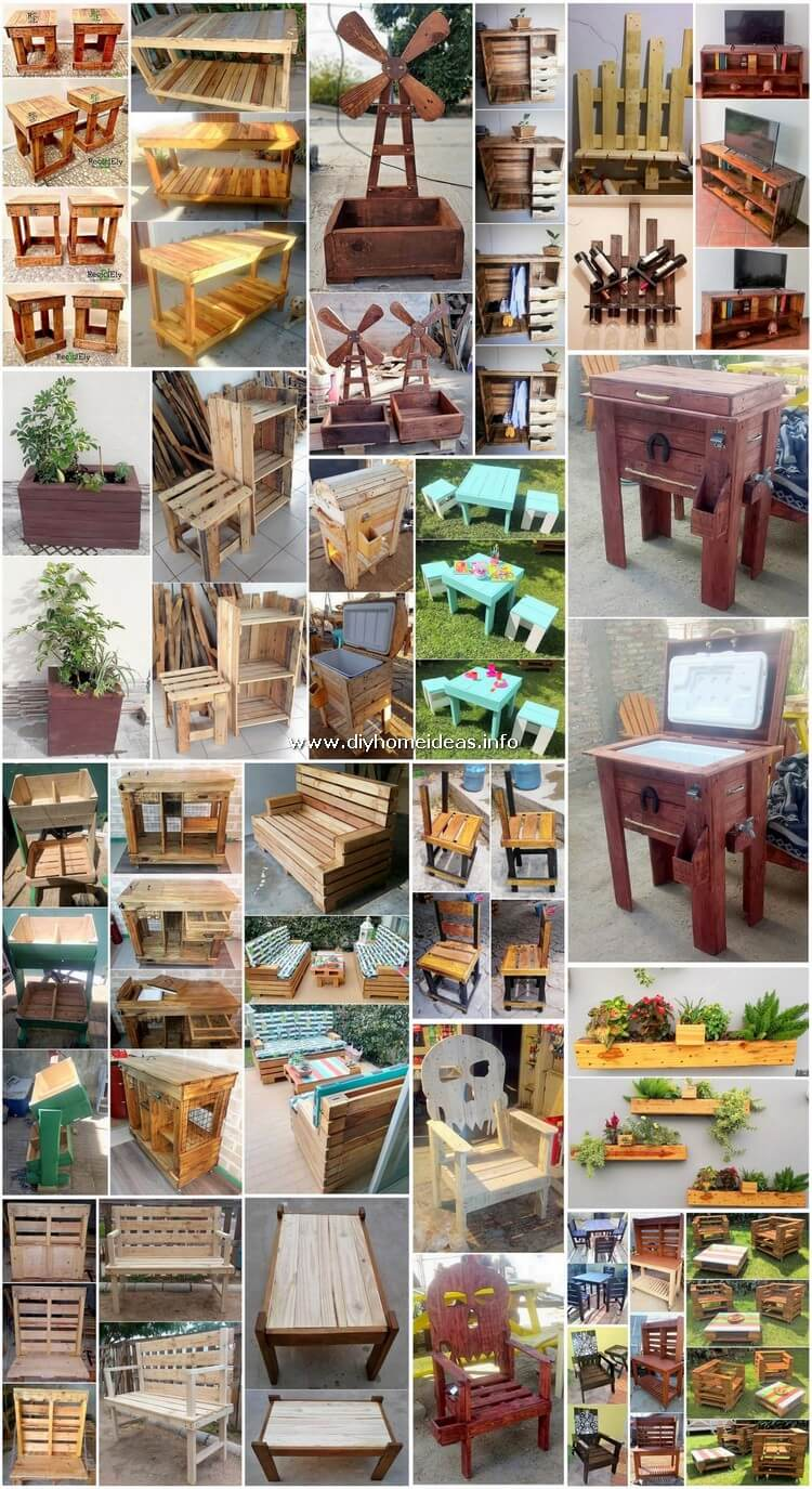 Wondrous Ideas for Shipping Pallet Wood Recycling