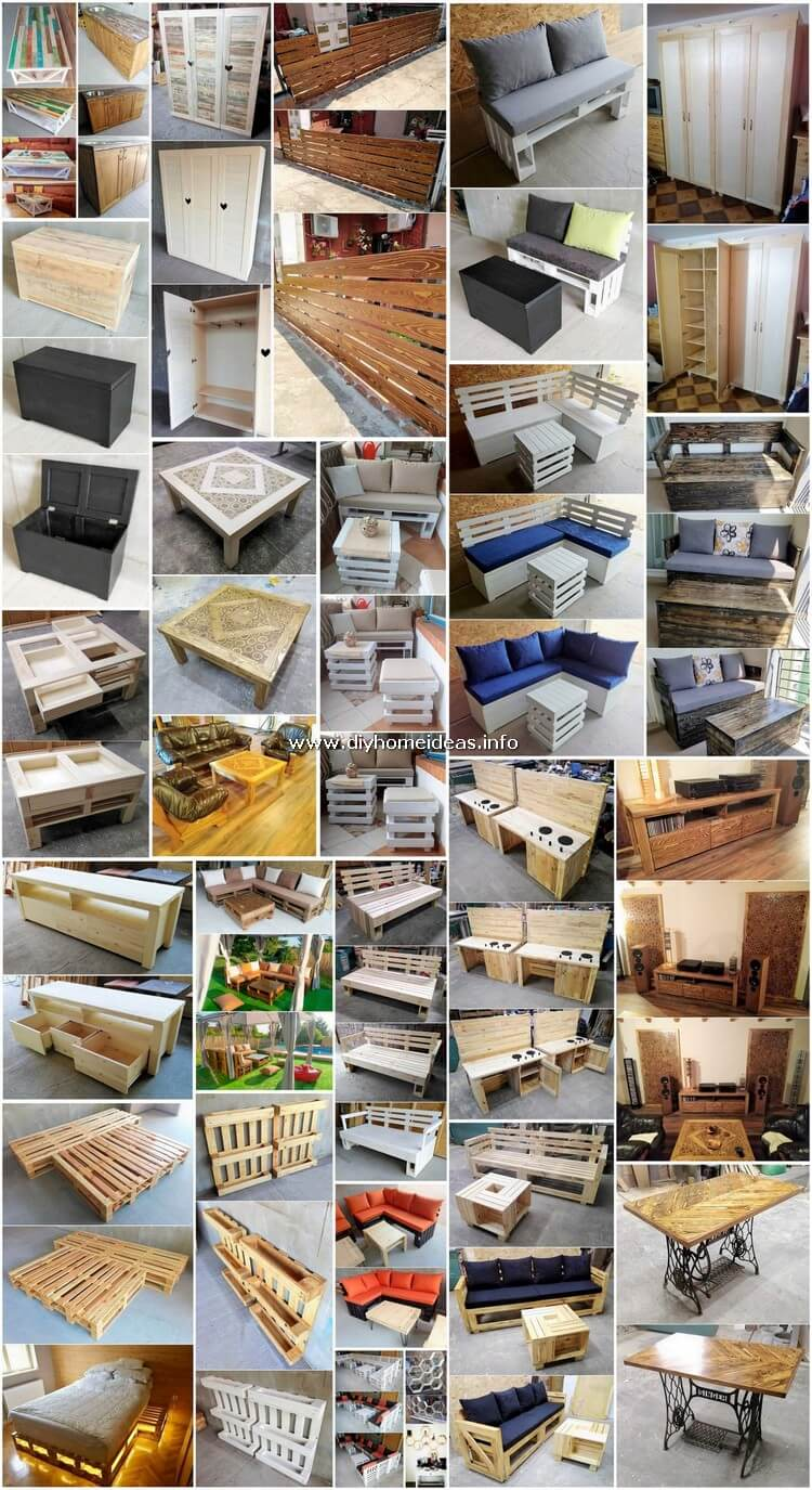 Brilliant DIY Ideas for Wood Pallet Upcycling