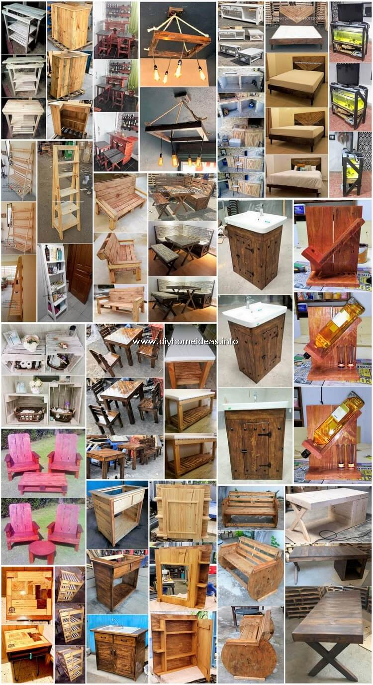 Charming and Fresh Wood Shipping Pallet Projects