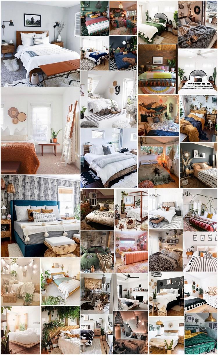 35+ Charming Bohemian Bedroom Decor Ideas