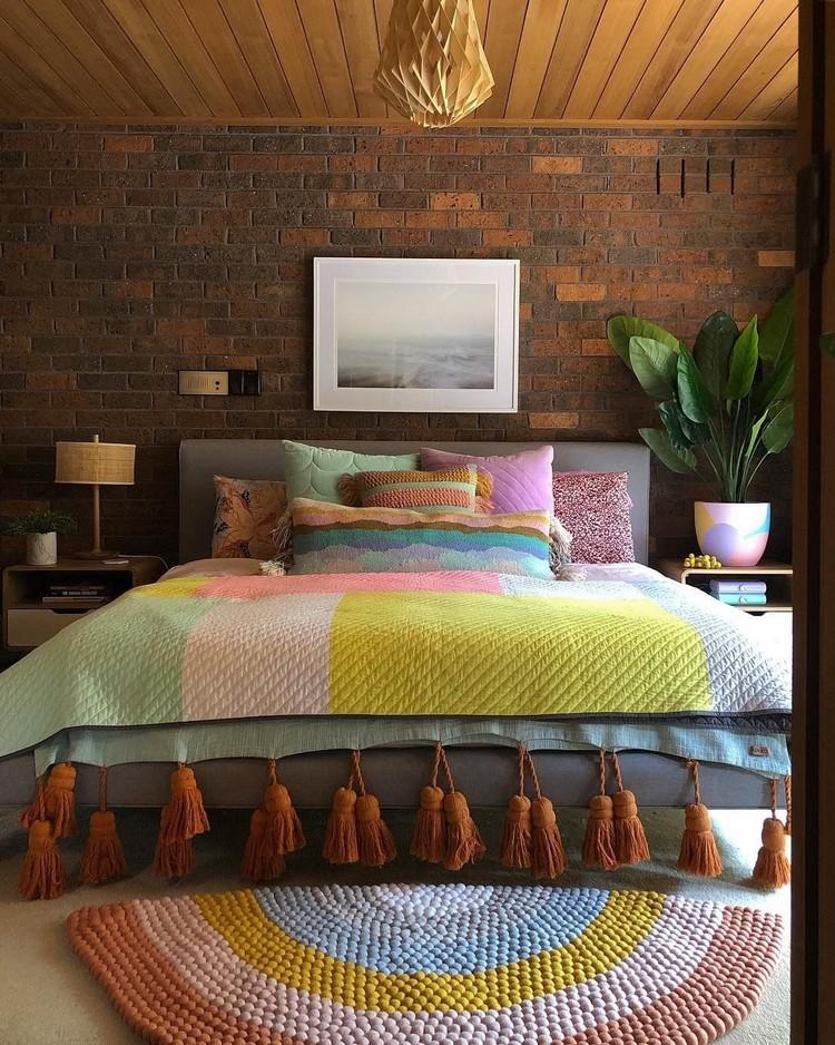 Charming Bohemian Bedroom Decor (1)