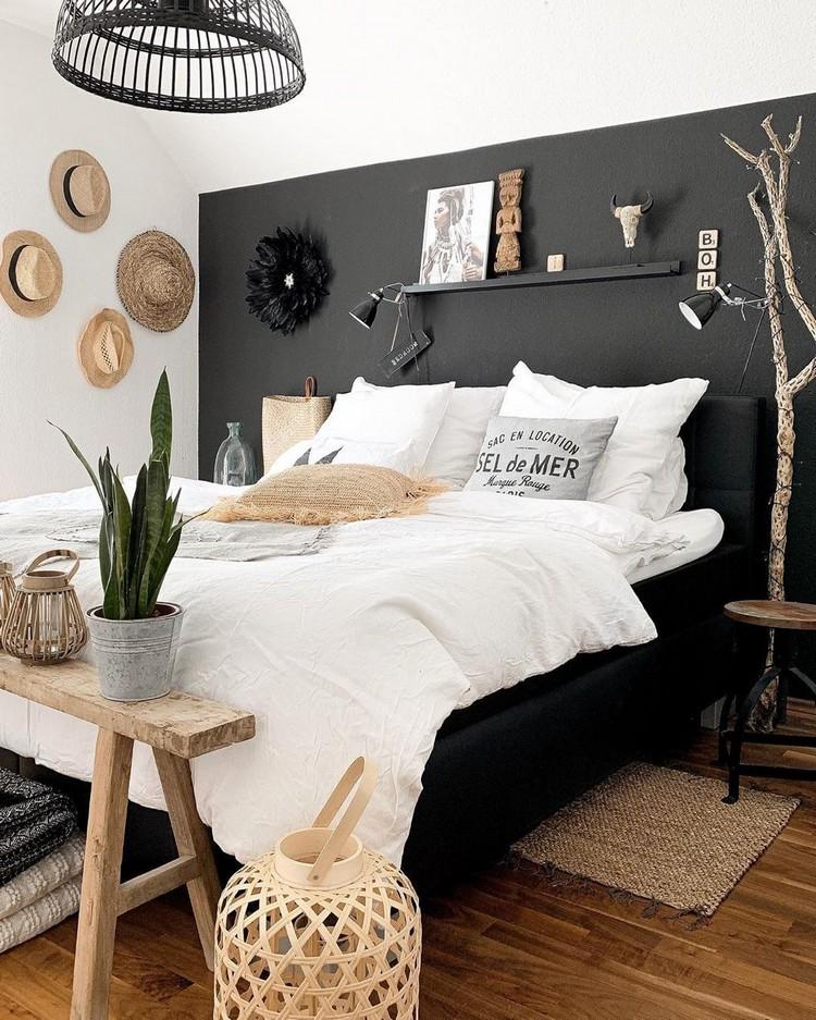 Charming Bohemian Bedroom Decor (10)