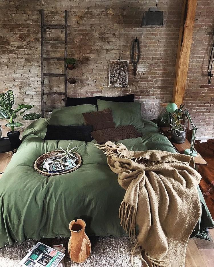 Charming Bohemian Bedroom Decor (13)