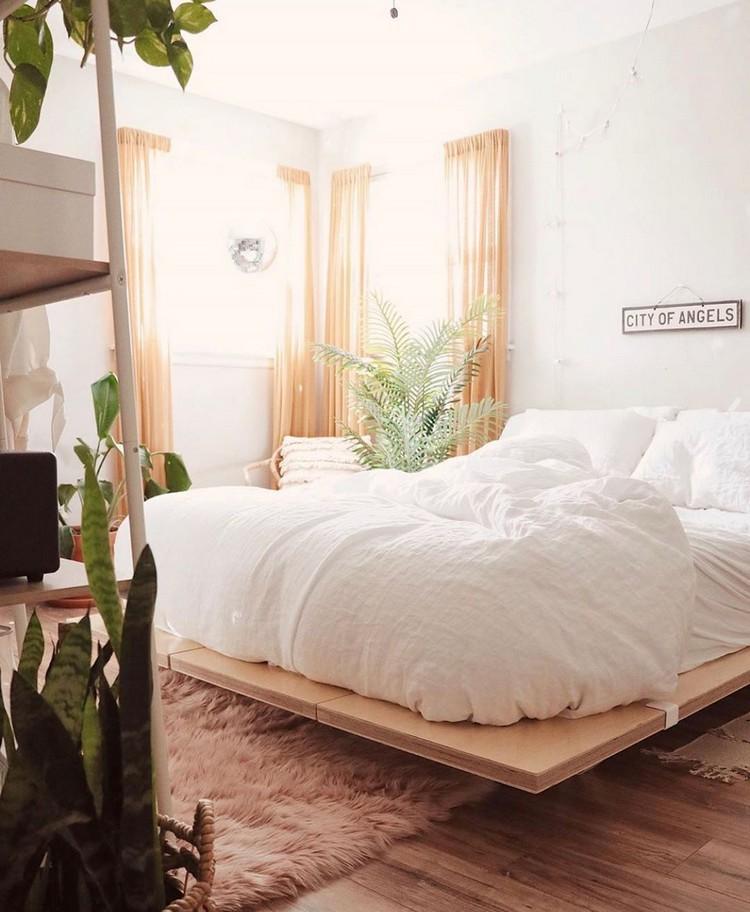 Charming Bohemian Bedroom Decor (15)