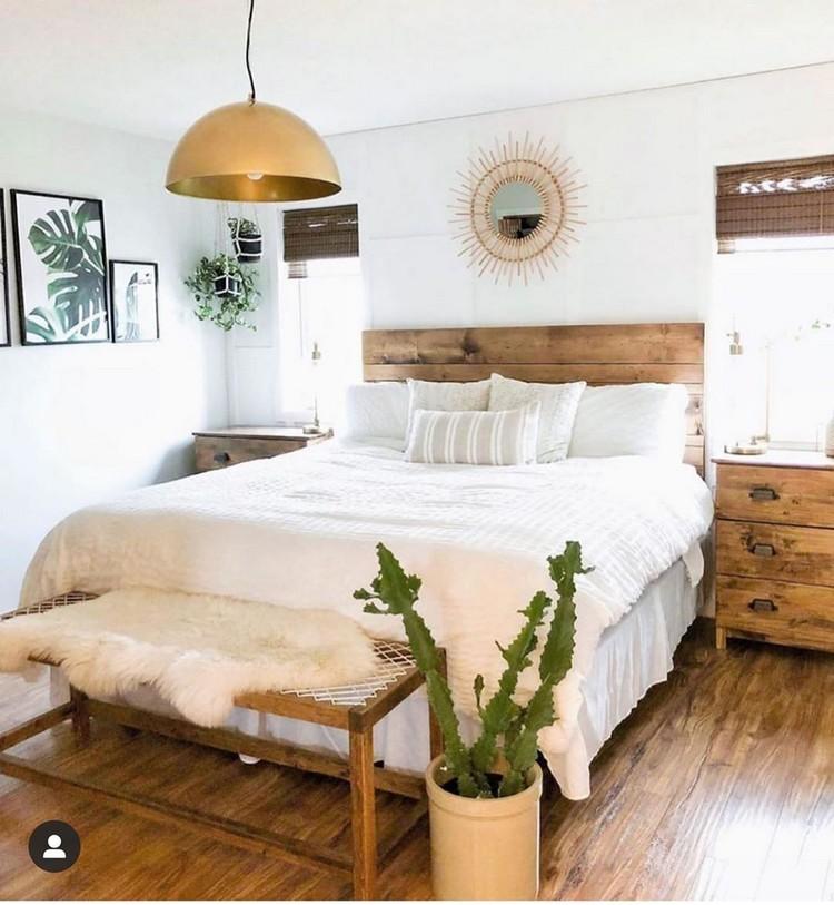 Charming Bohemian Bedroom Decor (20)