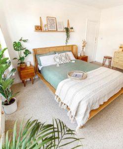 Charming Bohemian Bedroom Decor (21)