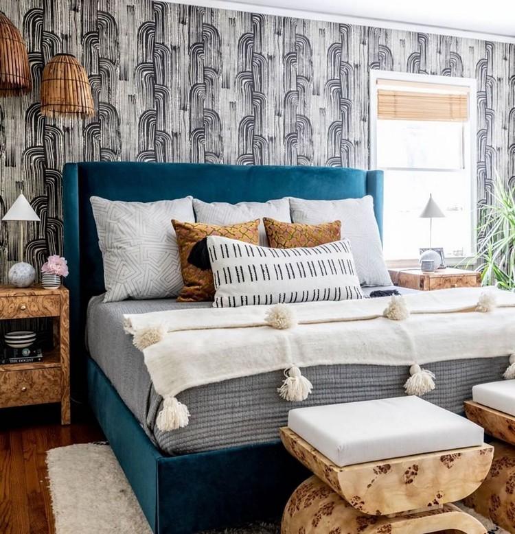 Charming Bohemian Bedroom Decor (22)