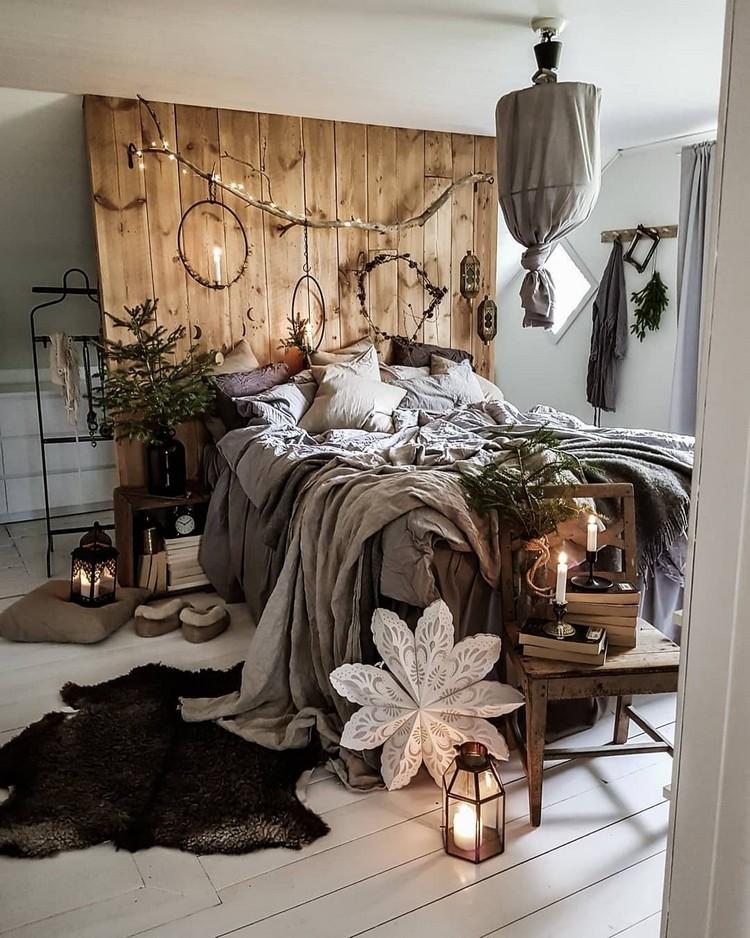 Charming Bohemian Bedroom Decor (24)