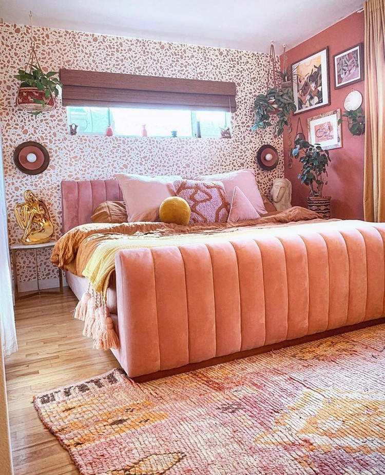 Charming Bohemian Bedroom Decor (25)