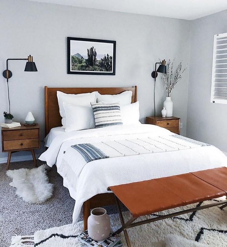 Charming Bohemian Bedroom Decor (26)