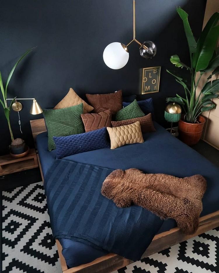 Charming Bohemian Bedroom Decor (29)