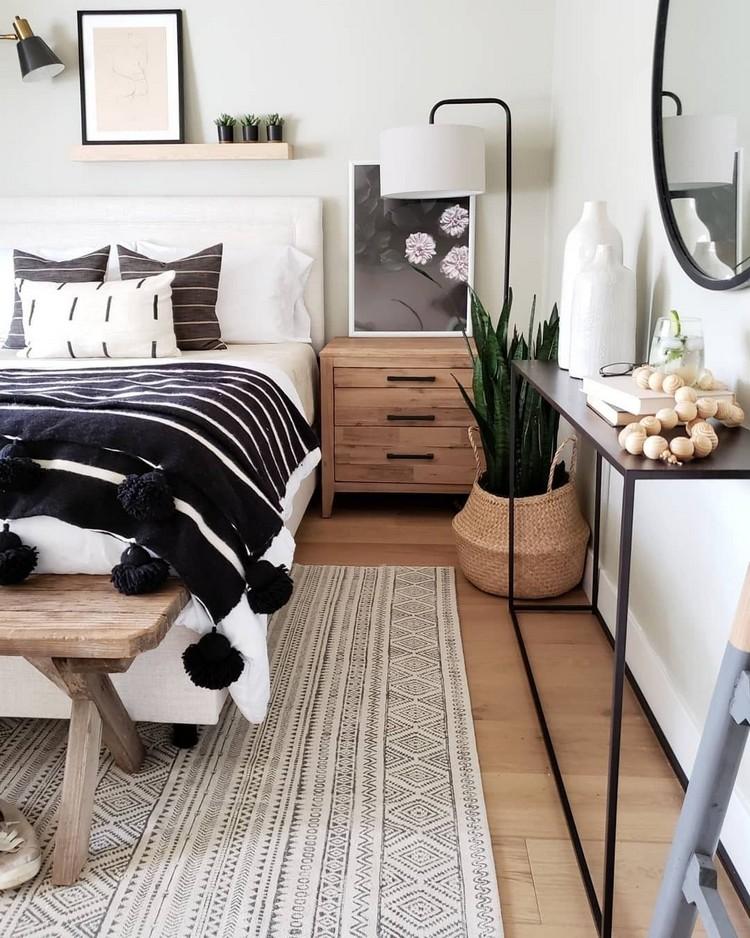Charming Bohemian Bedroom Decor (34)