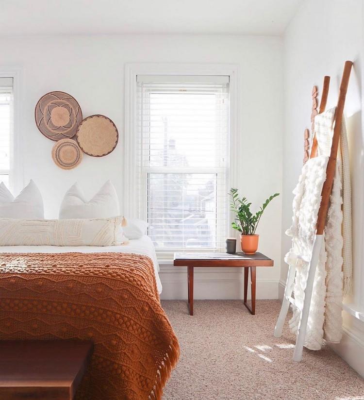 Charming Bohemian Bedroom Decor (4)