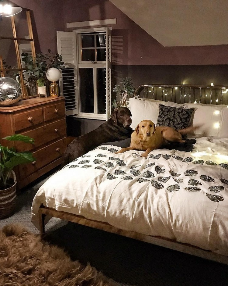 Charming Bohemian Bedroom Decor (6)